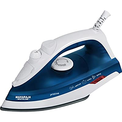 Maharaja Whiteline Pristine SI-103 1200-Watt Steam Iron (Blue)