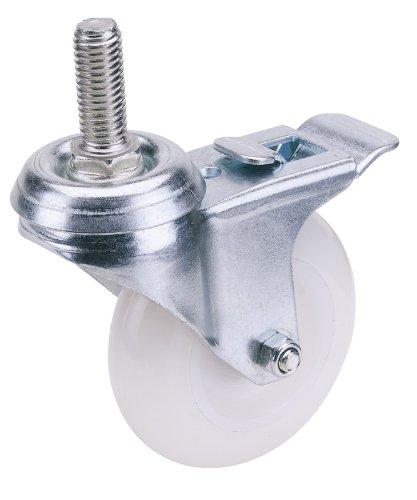 draper-65506-100mm-dia-swivel-bolt-fixing-nylon-wheel-with-brake-swl-125kg