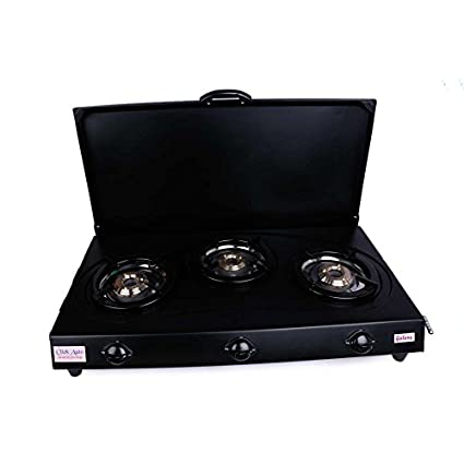 Clickauto Gaaxy Cat LX Auto Ignition Gas Cooktop (3 Burner)