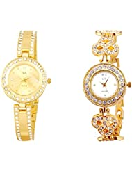 WATCH ME COMBO GIFT SET OF WATCHES FOR WOMEN WM-120G-121G