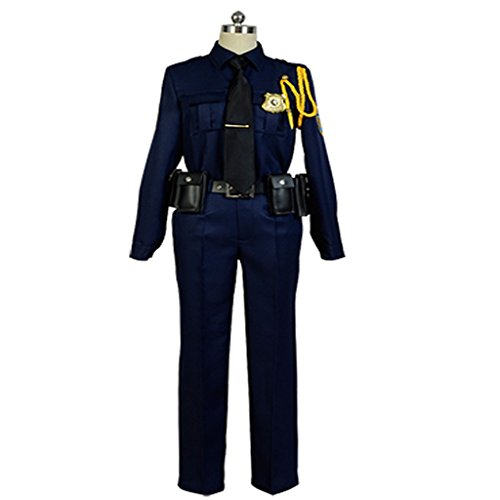 Costhat Cosplay Sets Fox Nick Police Suit Uniform Cosplay Costume (Police Uniforms For Sale)