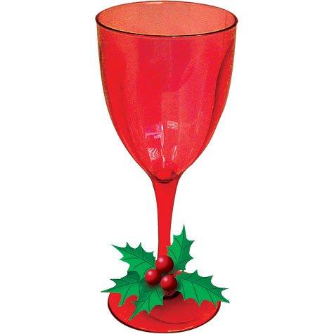 Lolita Christmas Wine Glasses