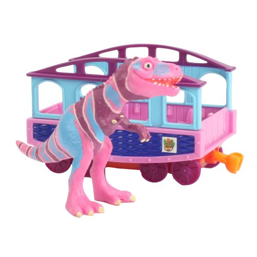 Learning Curve Dinosaur Train Collectible Dinosaur With Train Car: My Friends Are Bipeds: Mr. Daspletosaurus - 1