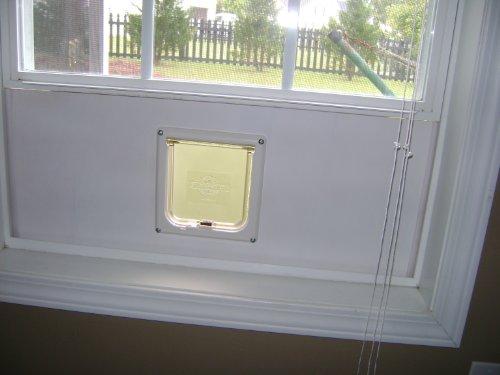 Cat Door Insert For Window Heavy-duty Cat Door Window