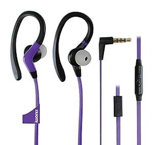 Iworks Ipx-7 Waterproof Athletic Sports Earbuds (Purple)
