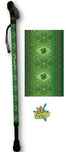 Adjustable T Handle Walking Cane Irish Lace