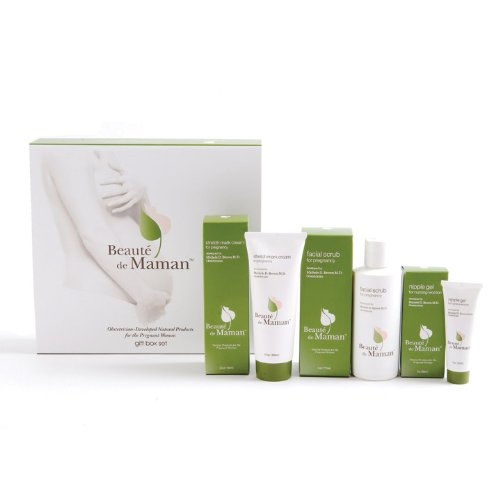 Beaute de Maman Gift Set (Includes: Stretch Mark Cream, Nipple Gel, and Facial Scrub)