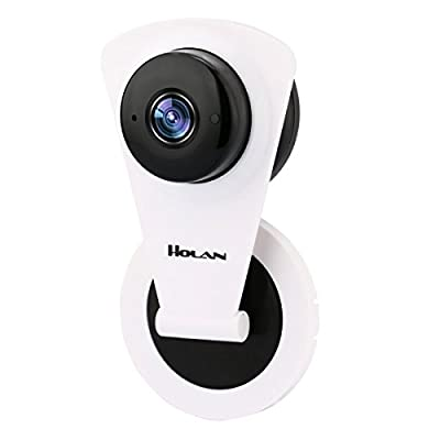 IP Camera Holan Wireless Surveillance Camera 720P WiFi Mini Camera Baby Nanny Pet Office Security Video Monitoring with Night Vision for Smart Phone Tablets