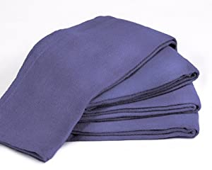 """Towels by Doctor Joe Blue 16"""" x 25"""" New Surgical Huck Towel, Pack of 12"""