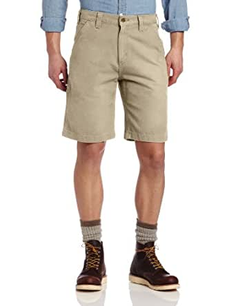Carhartt Men's Weathered Duck Work Short Relaxed Fit,Cottonwood (Closeout),30