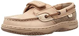 Sperry Top-Sider Bluefish H&L Boat Unisex Shoe (Toddler/Little Kid),Linen/Oat,5 M US Toddler