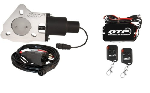 "Qtp Qtec25 2.5"" Electric Exhaust Cutout With Wireless Remotes"