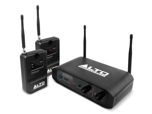 Alto Professional Stealth Wireless Stereo Wireless System For Active Loudspeakers