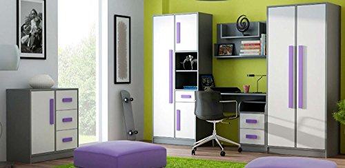 Jugendzimmer-Kinderzimmer-Set-GIT-Wohnwand-5-Farbvarianten