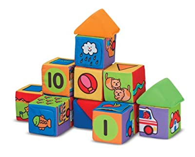 Melissa & Doug K's Kids Match and Build Blocks by Melissa & Doug
