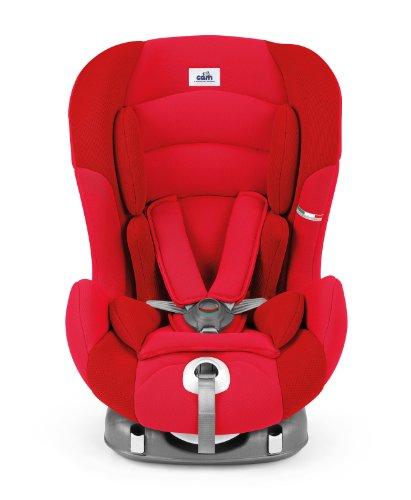 CAM S 157 216 Seggiolino Auto ViaggioSicuro Isofix, Rosso