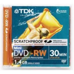 5pk Tdk DVD-Rw Vcam 30 Mins
