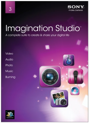 Sony Artistic Software Imagination Studio 3 V.3 [Old Type]