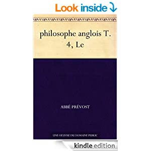 philosophe anglois T. 4, Le (French Edition)