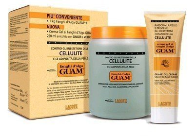 Guam Convenienza Fanghi Alga Classico Anti Cellulite 1Kg + Crema Gel 250 ml
