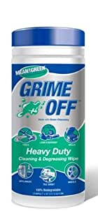 Nutek Grime Off Cleaning & Degreasing Wipes 24 ct Canister, BET-0024