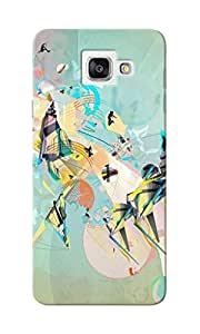 CimaCase Sports Abstract Designer 3D Printed Case Cover For Samsung Galaxy A7 2016
