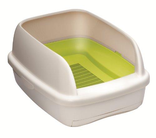 1週間消臭・抗菌デオトイレ 本体セットハーフカバー ナチュラルグリーン