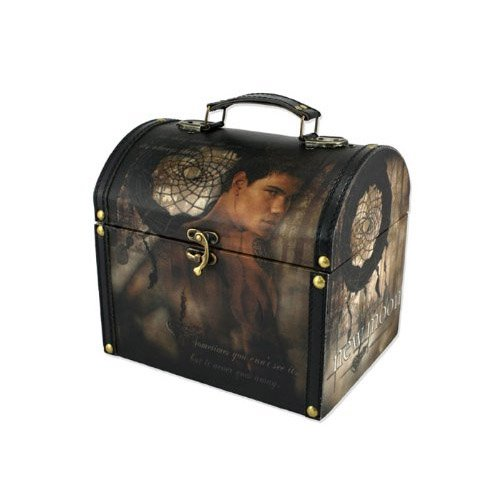 "Twilight New Moon ""Jacob and Dreamcatcher"" Vintage Carrying Case"