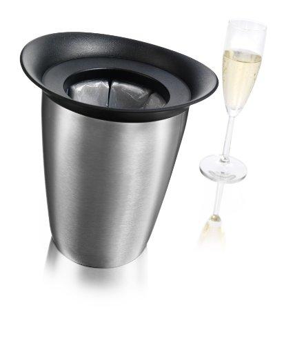 Vacu Vin Rapid Ice Elegant Champagne Cooler - Stainless Steel