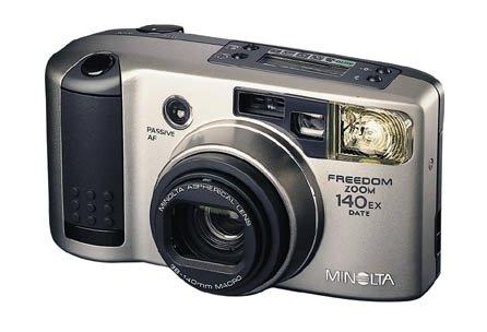 Minolta Freedom Zoom 140 Ex Date