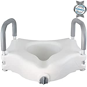 Raised Toilet Seat By Vive Best Portable Elevated Riser With Pa