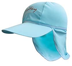 SunWay Light blue Legionnaire Hat for 6-24 months old (UPF 50+)