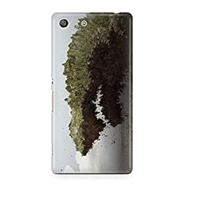 Motivatebox - Sony Xperia M5 Back Cover - Grove Up High Polycarbonate 3D Hard case protective back cover. Premium Quality designer Printed 3D Matte finish hard case back cover.