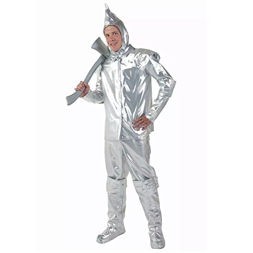 Lovery Valley Adult Wizard Of Oz Tin Man Romper Costume and Leprechaun Costume