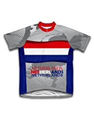 Netherlands Short Sleeve Cycling Jersey for Women