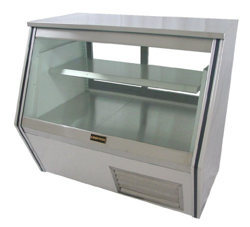 "Cooltech Refrigeration 48-inch 1 Shelf Refrigerated Deli Display Case 48"" CMPH-48CD"