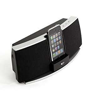 Klipsch iGroove SXT MFI iPod Speaker System: Charges all new iPods/iPhones