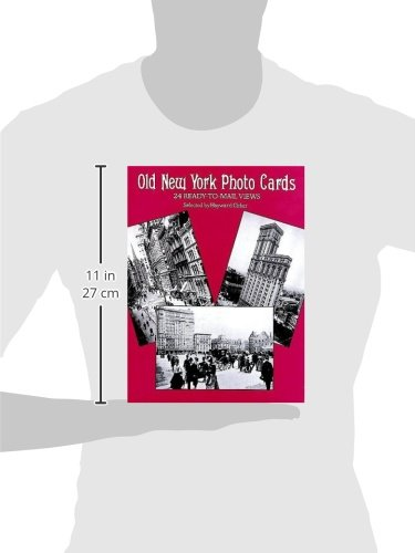Old-Time New York: 24 Photo Cards (Dover Postcards)