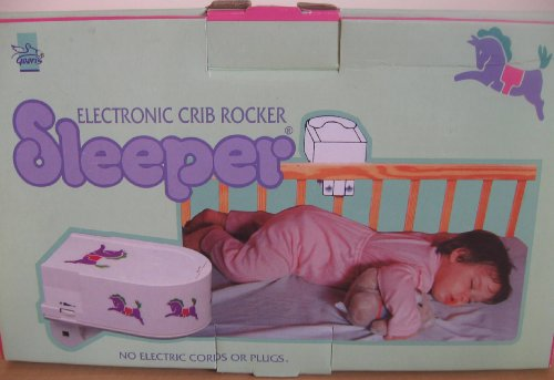 Electronic Crib Rocker Sleeper for Crying Baby's
