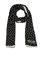MOSCHINO CHEAP AND CHIC Estola (Negro / Blanco)