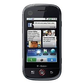 Motorola CLIQ Android Phone, Titanium (T-Mobile)