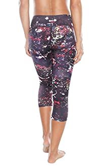 WITH Women's Capris Paint Dots