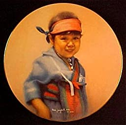 Morning Star Collector Plate by Mimi Jungbluth