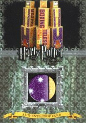 Harry Potter & The Half-Blood Prince - Boxing Telescope Boxes Prop Card Ci2 #162/220
