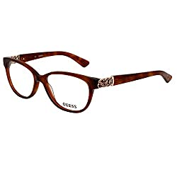 GUESS Brown Cateye Power glasses or Computer Glasses (GU2491 052)