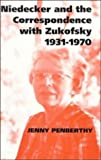 img - for Niedecker and the Correspondence with Zukofsky 1931-1970 book / textbook / text book