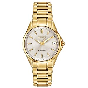 Citizen Women's PA0002-59A Grand Classic Analog Display Automatic Self Wind Gold Watch