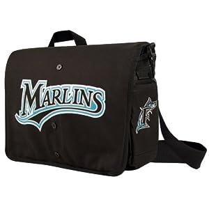Florida Marlins Jersey Messenger Bag 15.5 x 4 x 11 by Little Earth