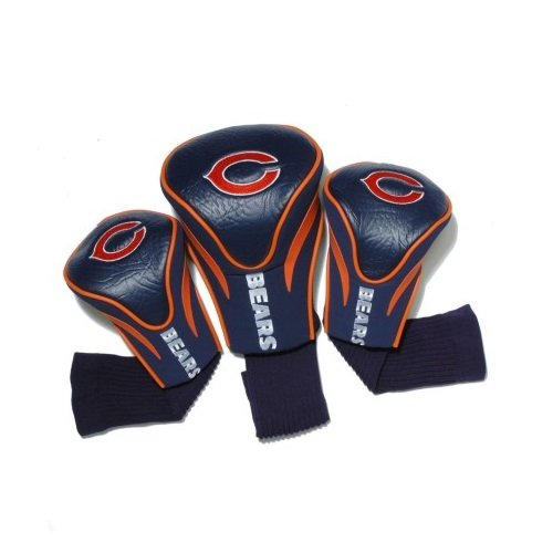 team-golf-30594-chicago-bears-3-pack-contour-fit-headcover