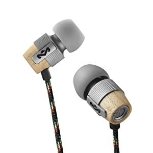 House of Marley Redemption Song In-Ear Headphones with 3 Button Mic - Mist
